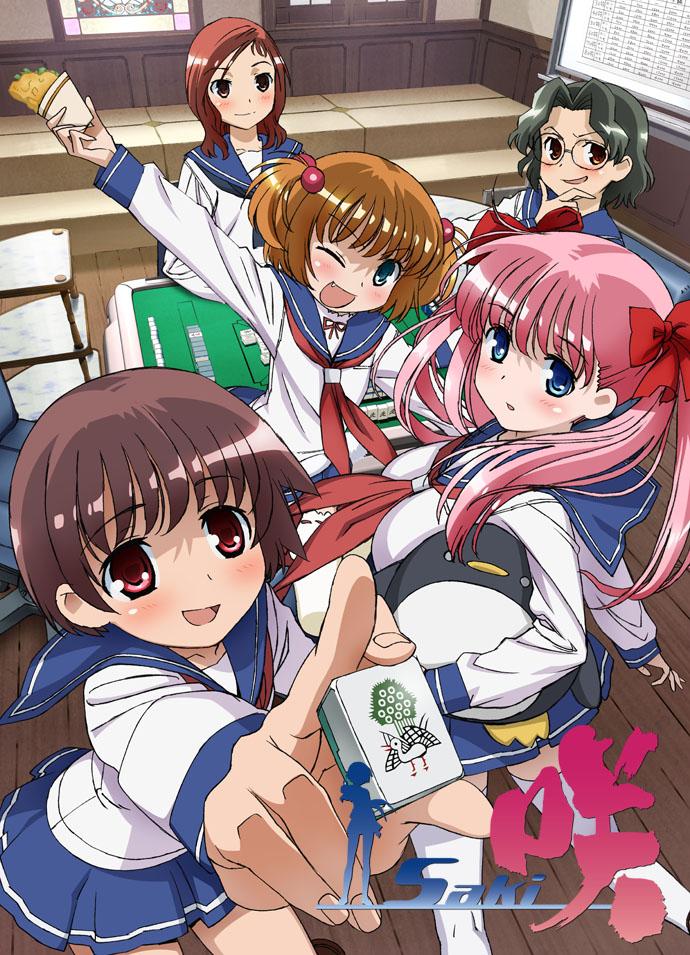 咲sakiの楽しそうな清澄高校メンバー